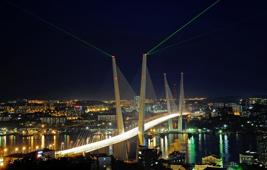 Zolotoy Rog Bay bridge, Vladivostok, Russia photo 6
