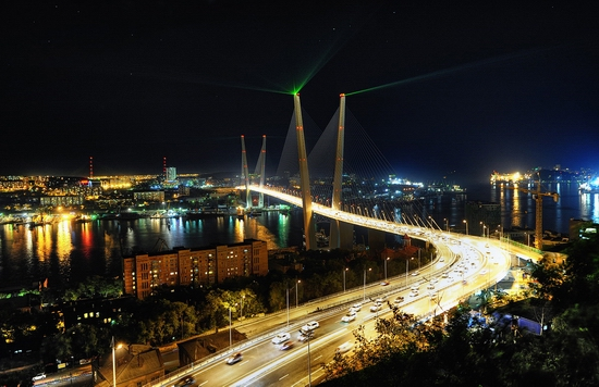 Zolotoy Rog Bay bridge, Vladivostok, Russia photo 7