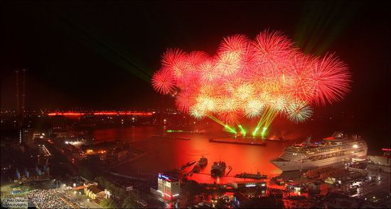Light show in honor of the APEC Summit in Vladivostok, Russia photo 14