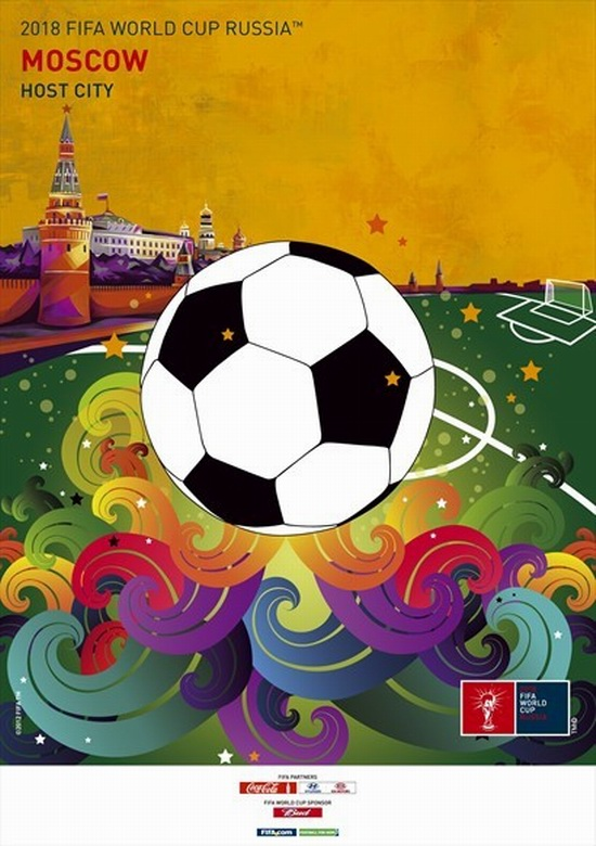 FIFA World Cup 2018 Russia - Moscow poster