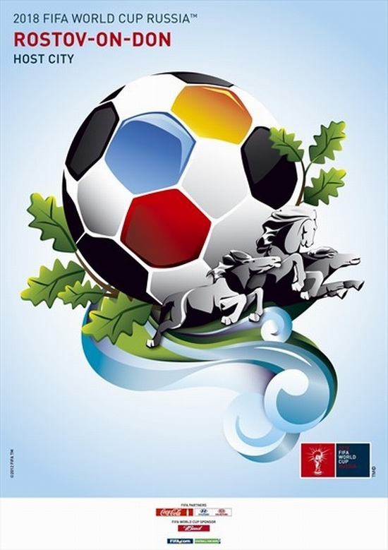 FIFA World Cup 2018 Russia - Rostov-on-Don poster