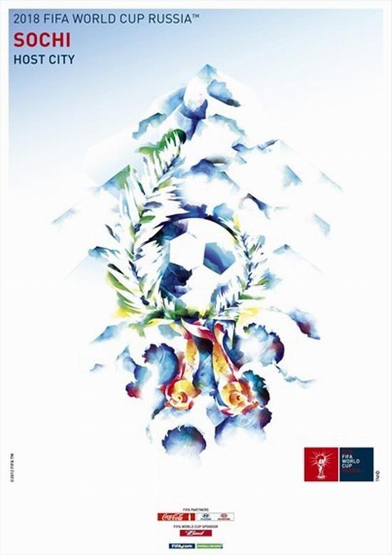 FIFA World Cup 2018 Russia - Sochi poster