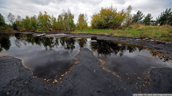 The most polluted lake in the world, Dzerzhinsk, Russia photo 6