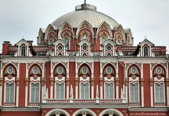 The Petrovsky palace, Moscow, Russia photo 3