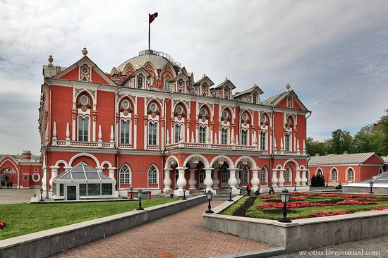The Petrovsky palace, Moscow, Russia photo 5