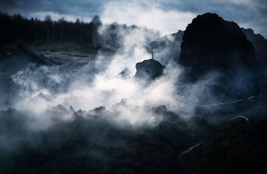 Abandoned peat extraction site near Moscow, Russia photo 18