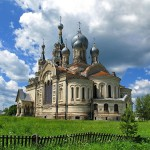 Pearl of Russian temple architecture in Kukoboy village