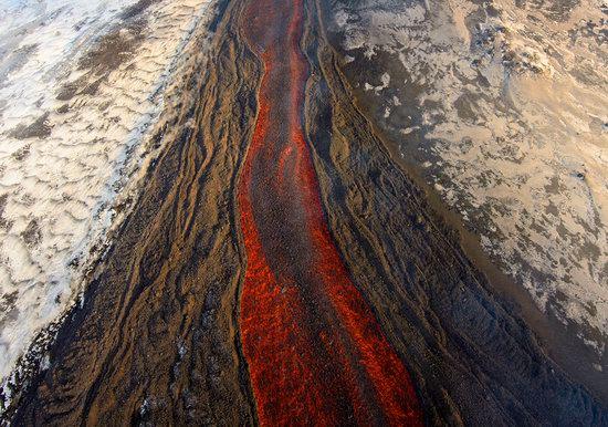 Plosky Tolbachik volcano eruption, Kamchatka, Russia photo 3
