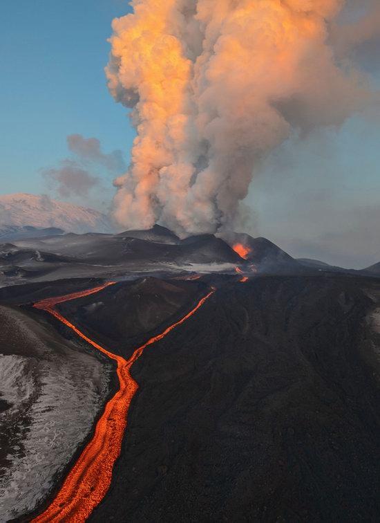 Plosky Tolbachik volcano eruption, Kamchatka, Russia photo 6