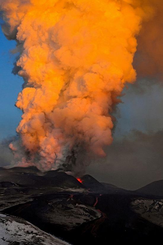 Plosky Tolbachik volcano eruption, Kamchatka, Russia photo 8