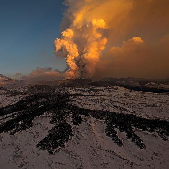 Plosky Tolbachik volcano eruption, Kamchatka, Russia photo 9