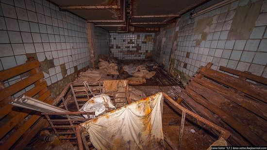 Abandoned textile factory that burned down, Russia photo 23