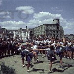 Athletic parade in Stalingrad in May 1945