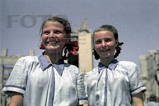 Athletic parade, Stalingrad, USSR, May 1945 photo 13