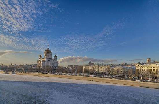 Moscow on a frosty day photo 1