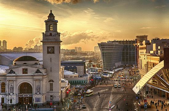 Moscow on a frosty day photo 10