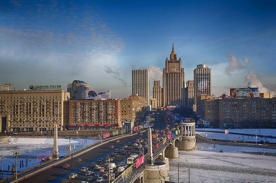 Moscow on a frosty day photo 11