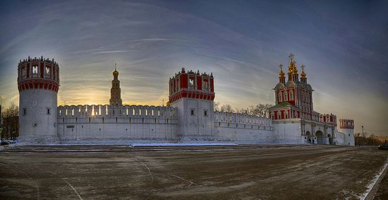 Moscow on a frosty day photo 12
