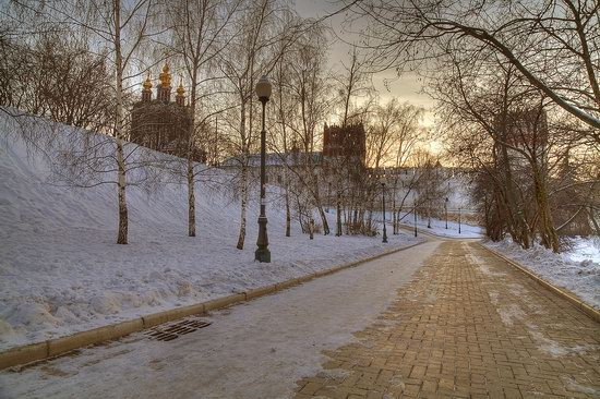 Moscow on a frosty day photo 13