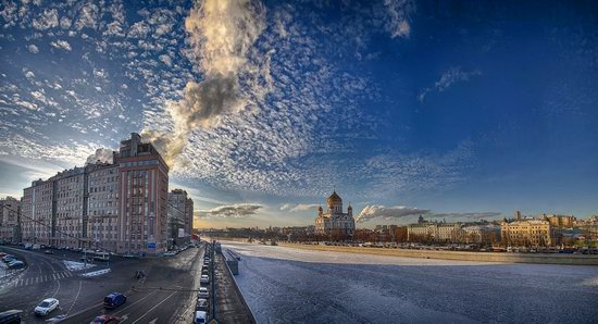 Moscow on a frosty day photo 4