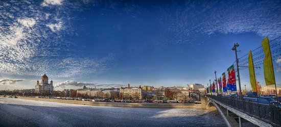 Moscow on a frosty day photo 5