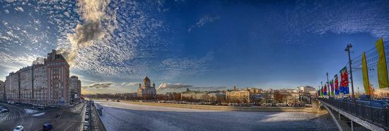 Moscow on a frosty day photo 6
