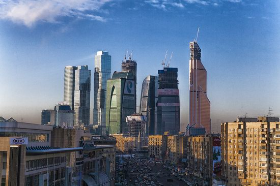 Moscow on a frosty day photo 7