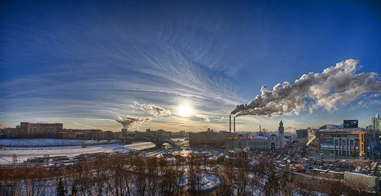 Moscow on a frosty day photo 8