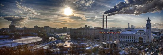 Moscow on a frosty day photo 9