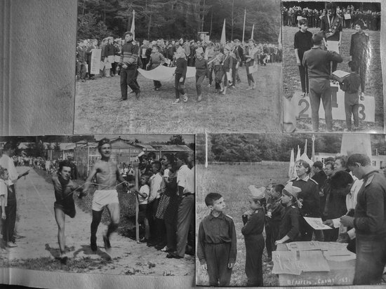 The pioneer camps, the USSR, 1960-1970, photo 14