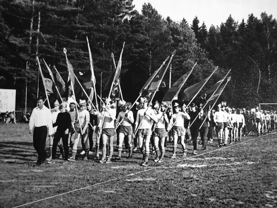 The pioneer camps, the USSR, 1960-1970, photo 7
