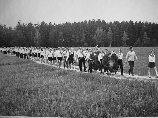 The pioneer camps, the USSR, 1960-1970, photo 8