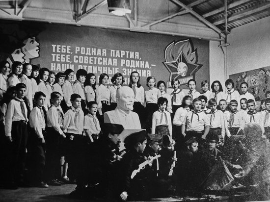 The pioneer camps, the USSR, 1960-1970, photo 9