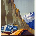 Posters of Stalin's Soviet Union luring foreign tourists