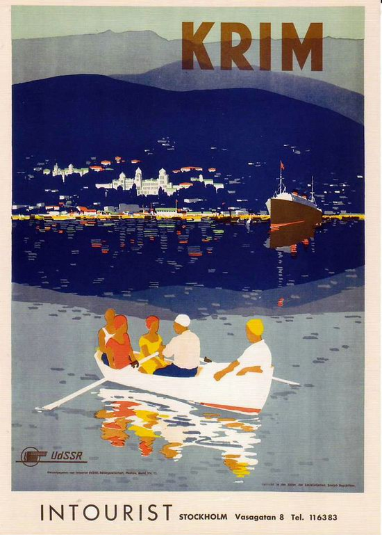 Stalin's Soviet Union posters luring foreign tourists 10