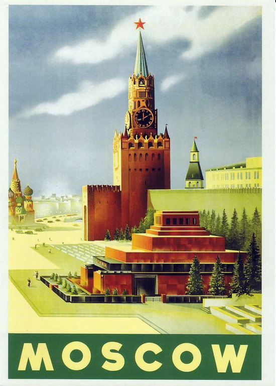 Stalin's Soviet Union posters luring foreign tourists 11