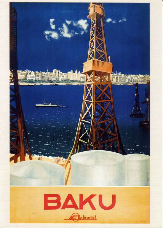 Stalin's Soviet Union posters luring foreign tourists 12