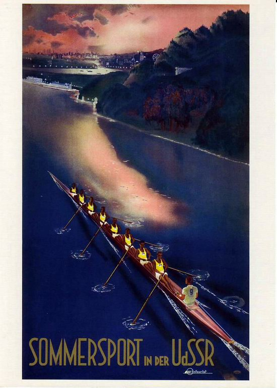 Stalin's Soviet Union posters luring foreign tourists 13