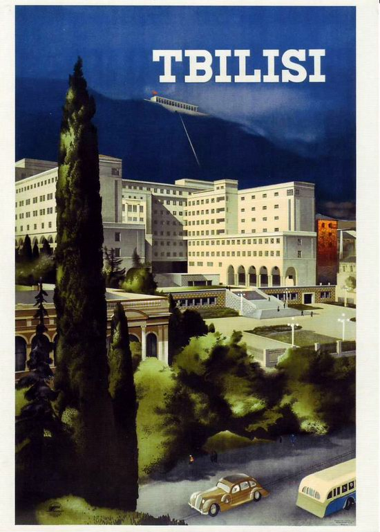 Stalin's Soviet Union posters luring foreign tourists 2