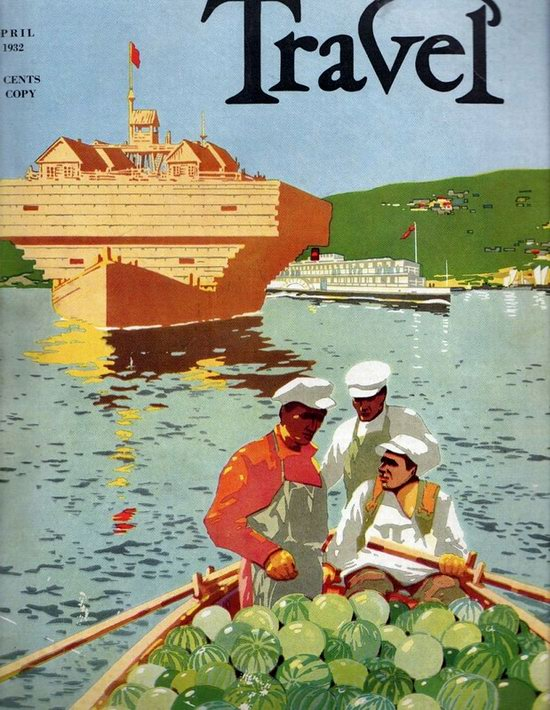 Stalin's Soviet Union posters luring foreign tourists 21