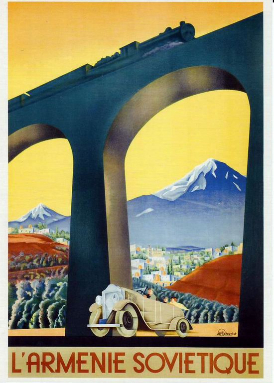 Stalin's Soviet Union posters luring foreign tourists 23