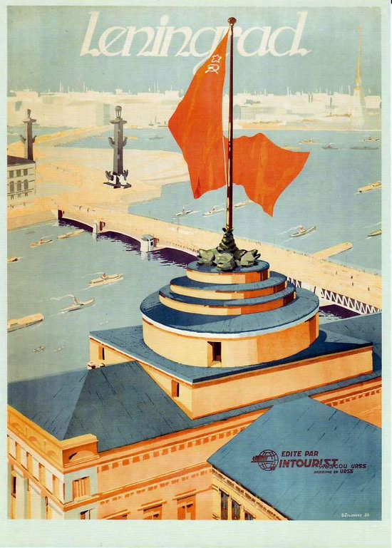 Stalin's Soviet Union posters luring foreign tourists 9