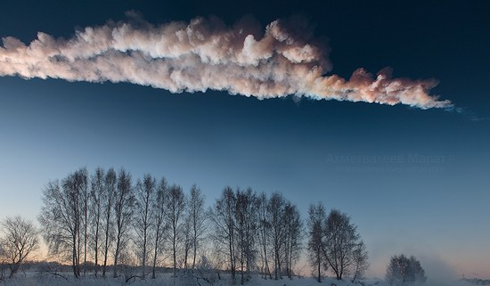Chelyabinsk meteorite explosion, Russia photo 8