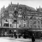 Moscow destroyed by the Bolsheviks in the autumn 1917