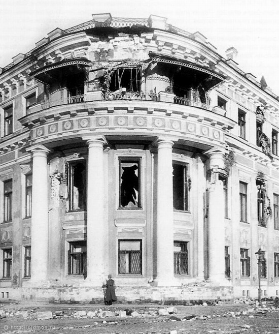 Moscow destroyed by the Bolsheviks, autumn 1917, photo 18