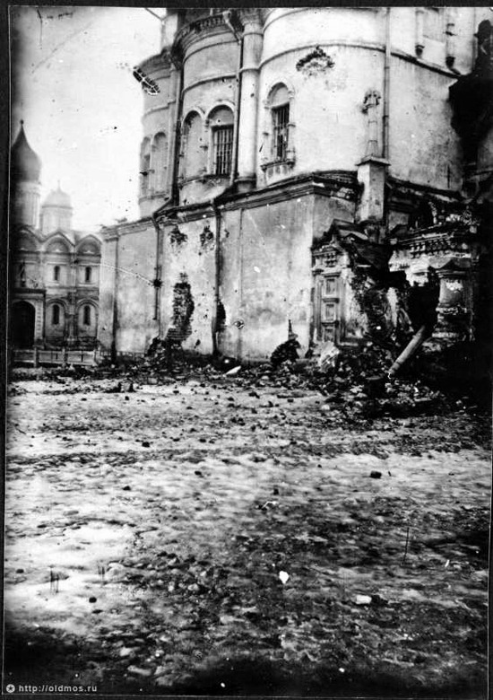 Moscow destroyed by the Bolsheviks, autumn 1917, photo 21
