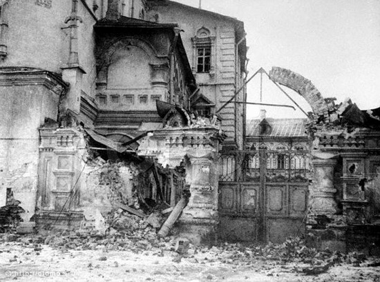 Moscow destroyed by the Bolsheviks, autumn 1917, photo 22