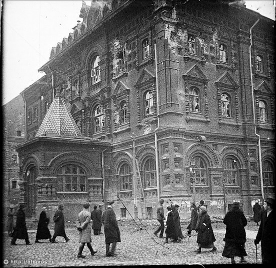 Moscow destroyed by the Bolsheviks, autumn 1917, photo 4