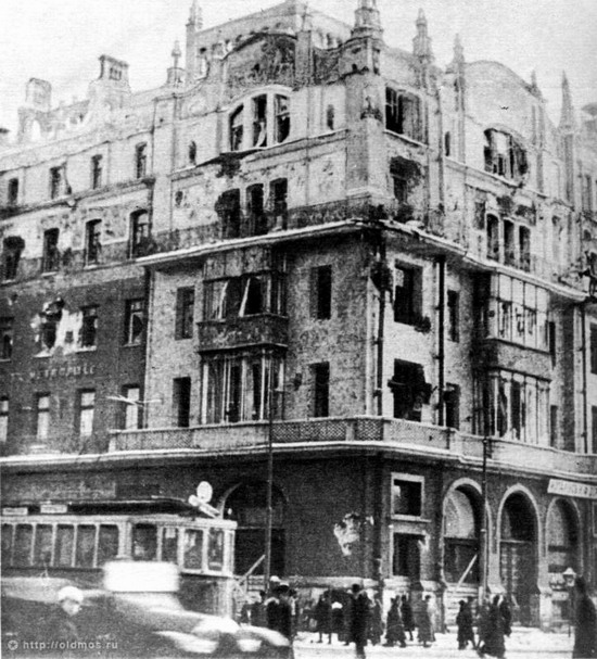 Moscow destroyed by the Bolsheviks, autumn 1917, photo 8