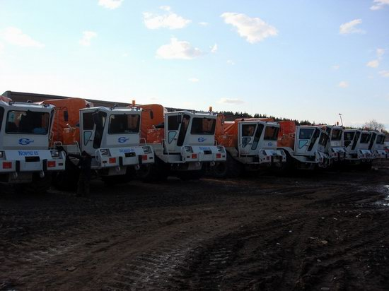 The life of a typical seismic prospecting crew in Russia photo 13